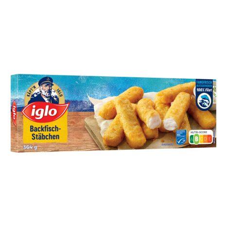 Iglo Käpt'n Iglo MSC glutenfrei Fischstäbchen 12 Stück 360 G