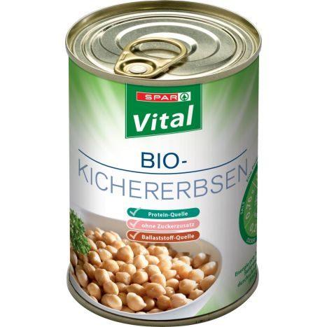 SPAR Natur*pur Bio Zuckermais vorgegart 400 G