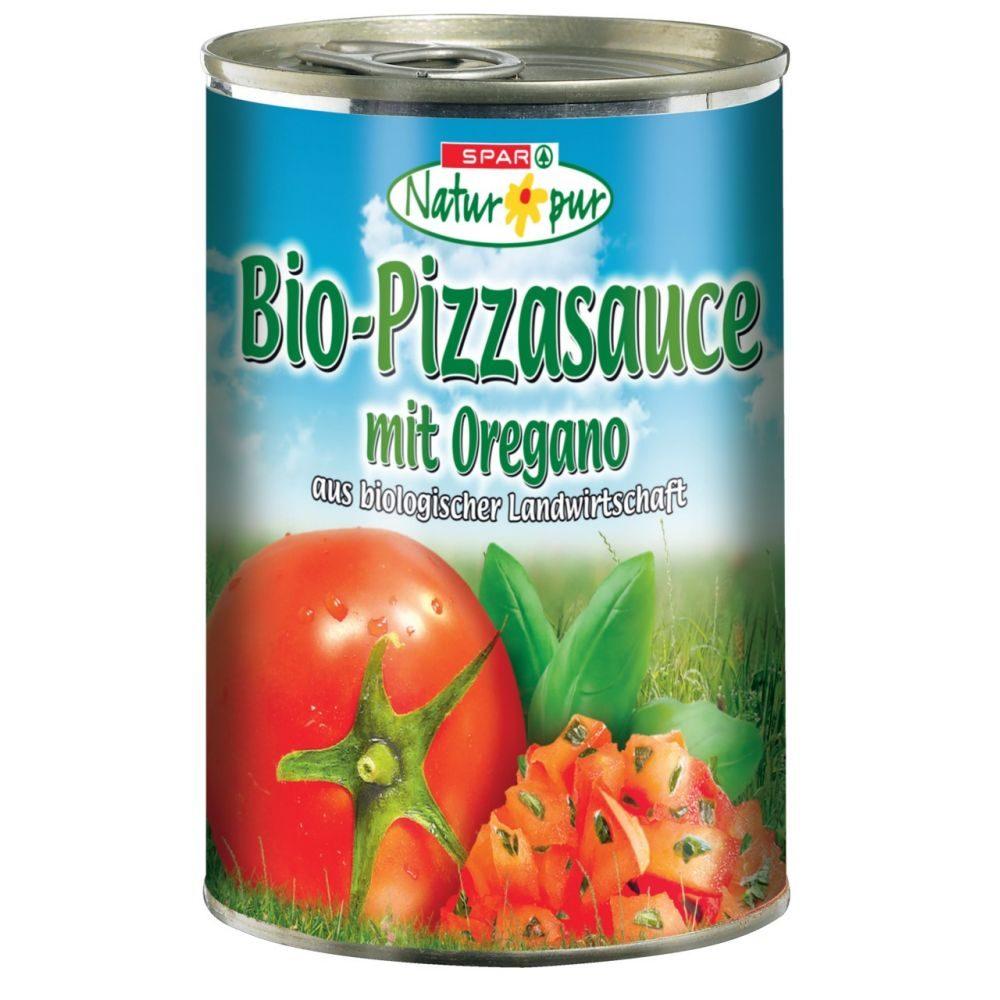 Spar Natur Pur Bio Pizzasauce Mit Oregano 400 G