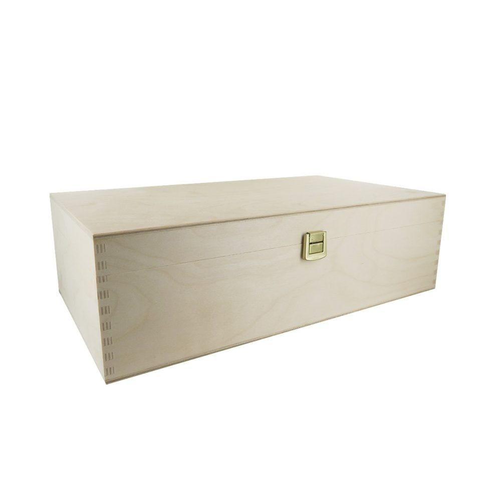 geschenkverpackung holz f r 2 flaschen null. Black Bedroom Furniture Sets. Home Design Ideas