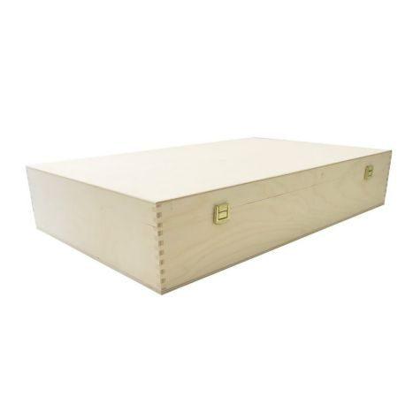Geschenkbox    Holz 6er         GVE 1