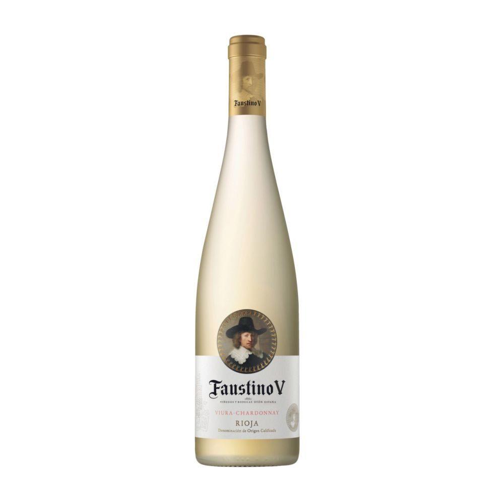 Faustino V     Rioja white 075  GVE 6