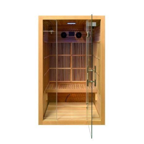 zanier infrarotkabine visio ii carbon sauna und infrarotkabinen wohlf hlen k rper. Black Bedroom Furniture Sets. Home Design Ideas