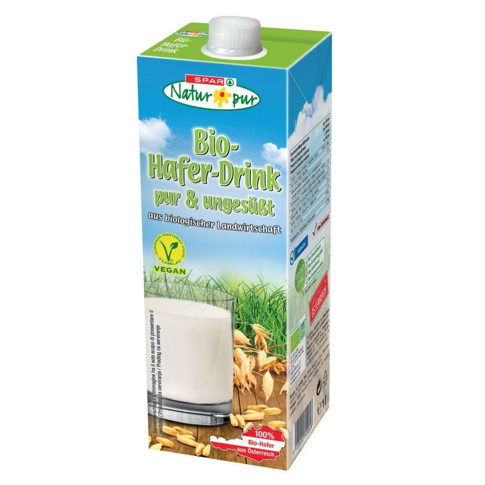 Fabelhaft SPAR Natur*pur - Bio-Hafer-Drink pur & ungesüßt 1 L @TW_03