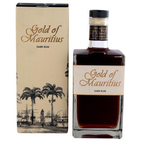 Gold of Mauritius Dark Rum 07l  GVE 6
