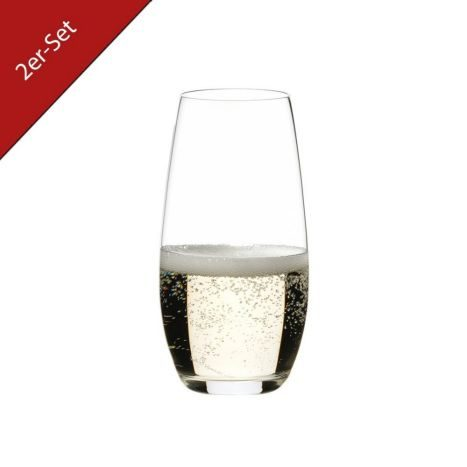 O Champagne    Glass 2er        GVE 4