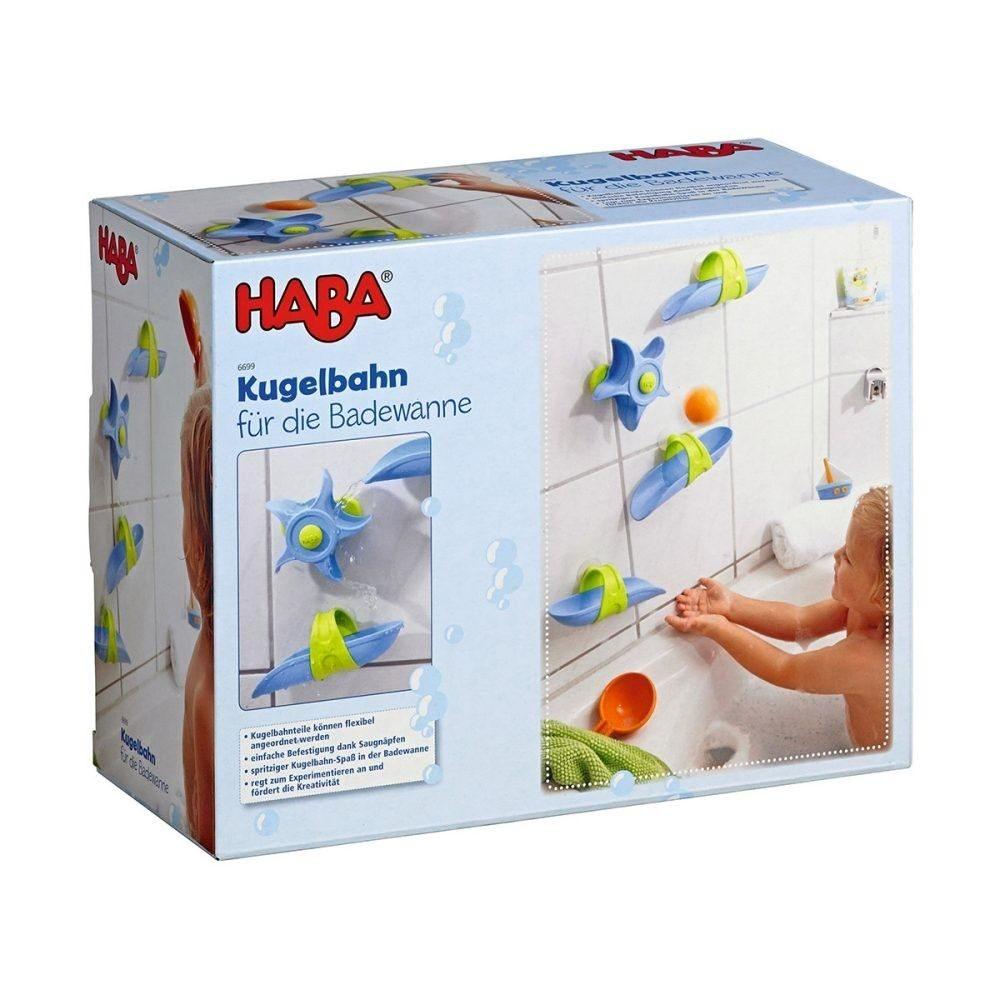 haba kugelbahn f r die badewanne baby spielzeug baby kleinkind spielware baby. Black Bedroom Furniture Sets. Home Design Ideas