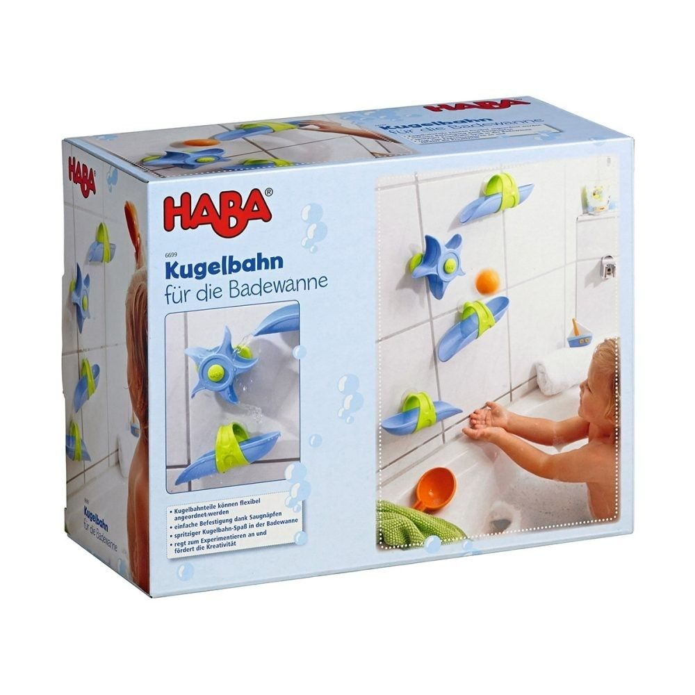 haba kugelbahn f r die badewanne baby spielzeug baby. Black Bedroom Furniture Sets. Home Design Ideas