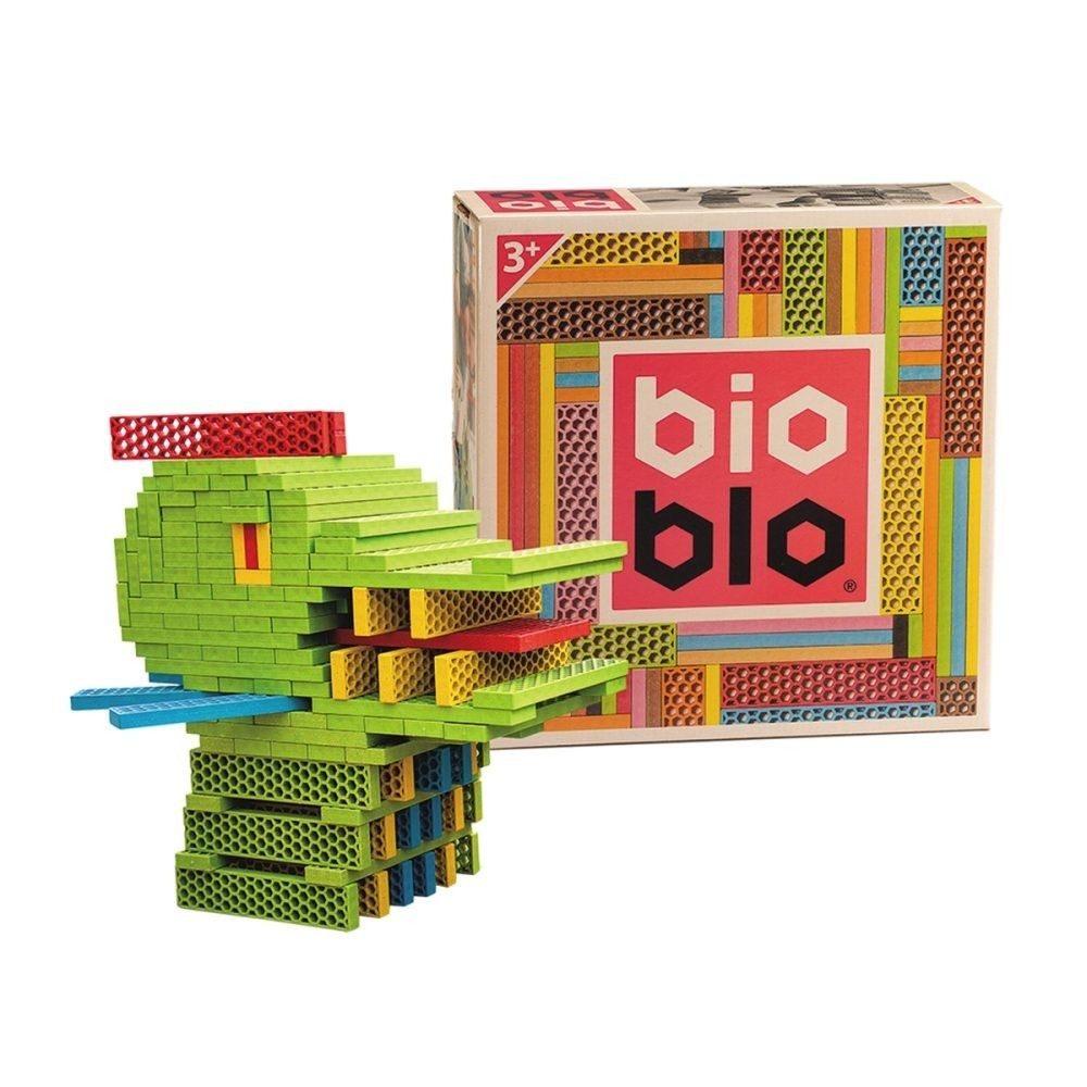 bioblo bausteine box 204 teilig spielzeug f r kleinkinder baby kleinkind spielware baby. Black Bedroom Furniture Sets. Home Design Ideas