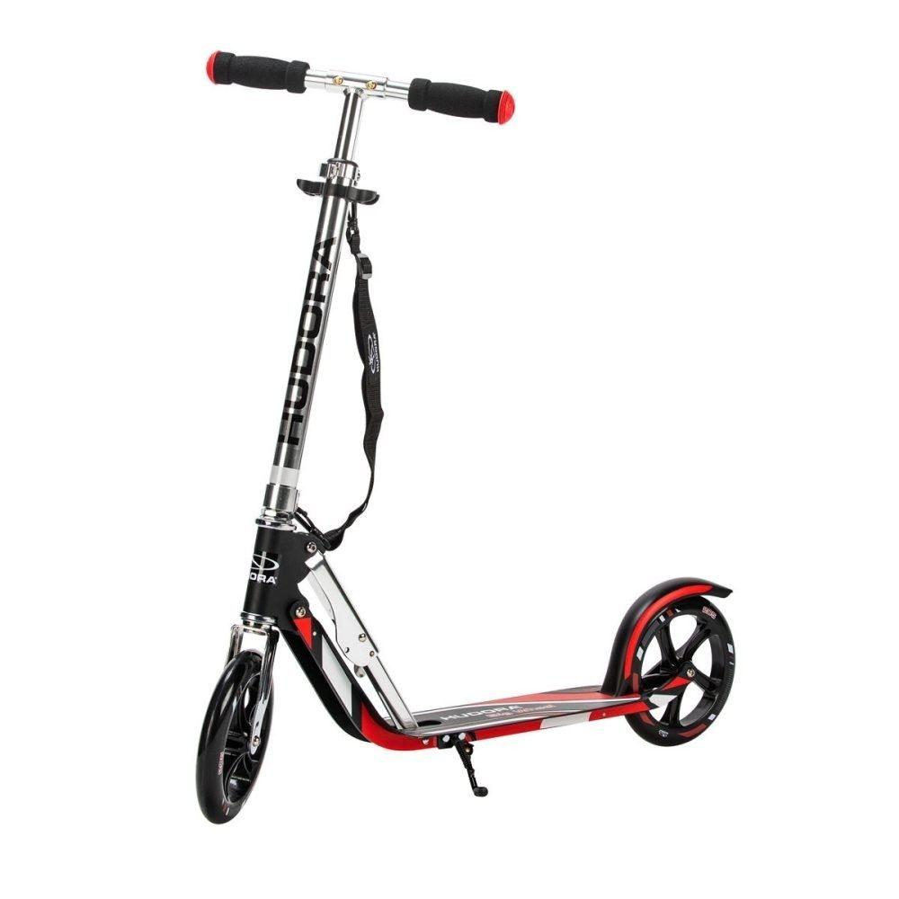 hudora scooter big wheel rx 205 schwarz rot interspar onlineshop haushalt freizeit. Black Bedroom Furniture Sets. Home Design Ideas