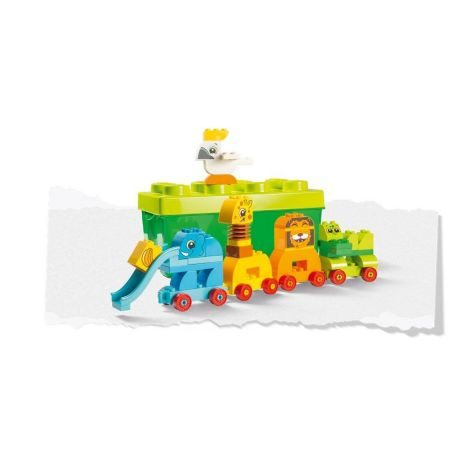 Meine erste Steinebox mit Ziehtieren Kleinkinder Zabawki konstrukcyjne LEGO Lego Duplo 10863