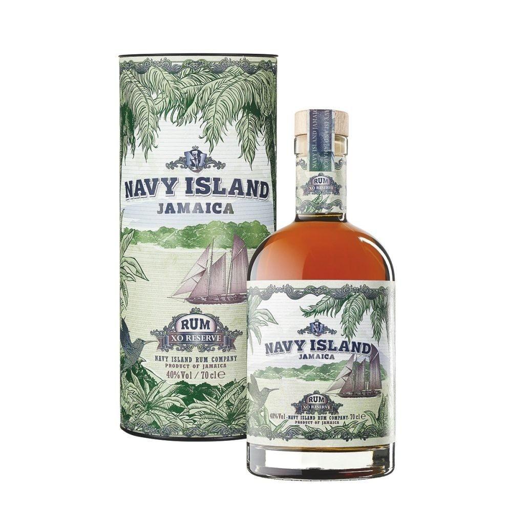 Navy Island Jamaica Rum XO 07l  GVE 6