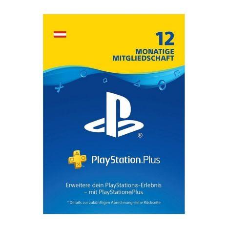 Sony PSN plus  12 Monate abo    GVE 1