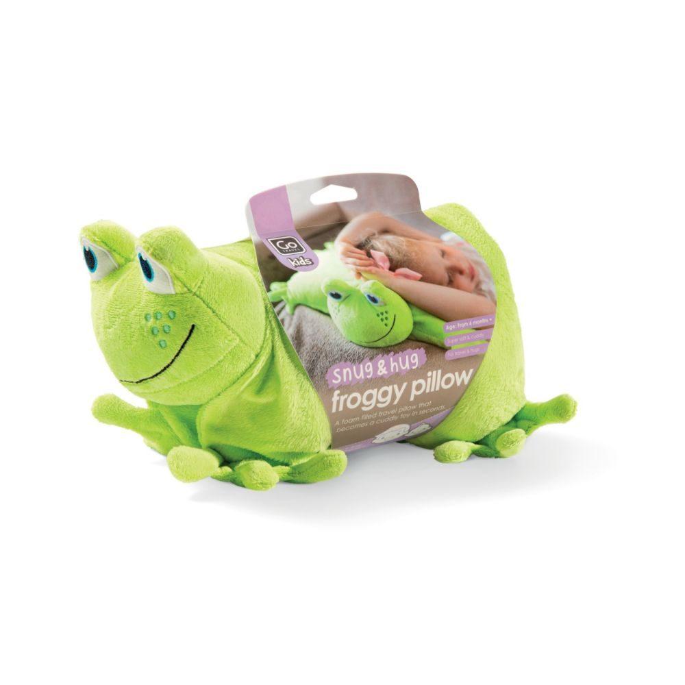 Frosch Reisekissen Kinder       GVE 1