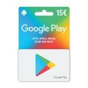 Google Play 15 EUR              GVE 1