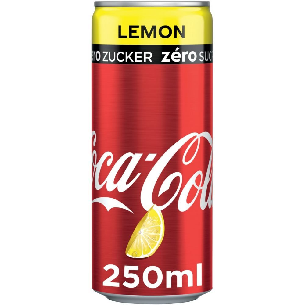 Coca Cola - Lemon Zero 250 ML