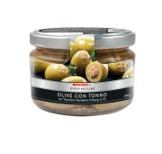 PREMIUM Oliven tonno 240g Glas  GVE 6