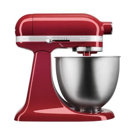 Kitchenaid Kuchenmaschine 3 3l Mini Empire Rot Kuchenbacken