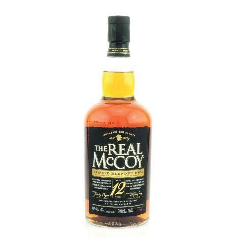 The Real McCoy 12YO Rum 0,7l    GVE 6