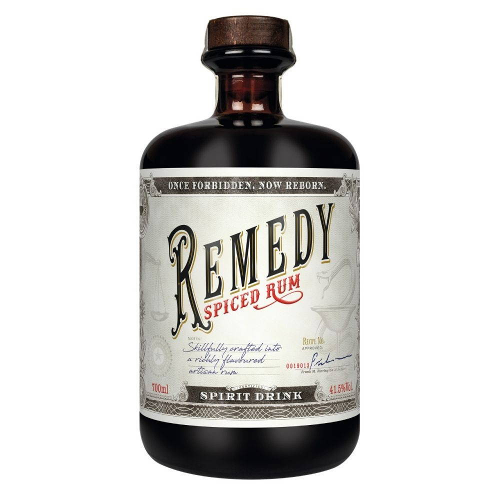 Remedy Spiced  Rum 0,7l         GVE 6