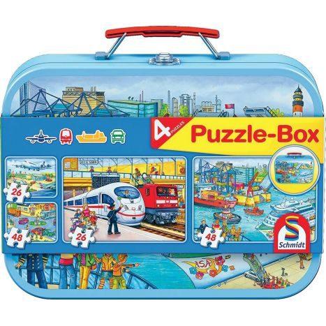 PuzzleBox Met.k.Verkehrsmittel  GVE 6