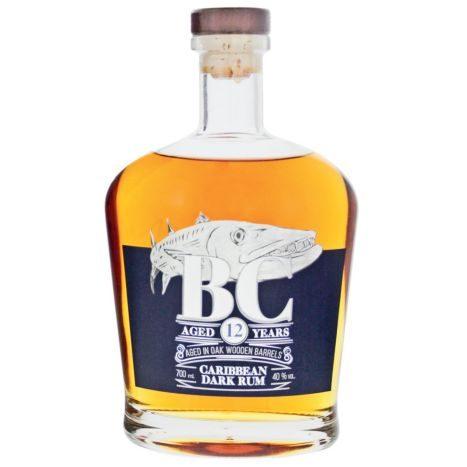 BC Carib. Dark Rum 12YO 0,7l    GVE 6