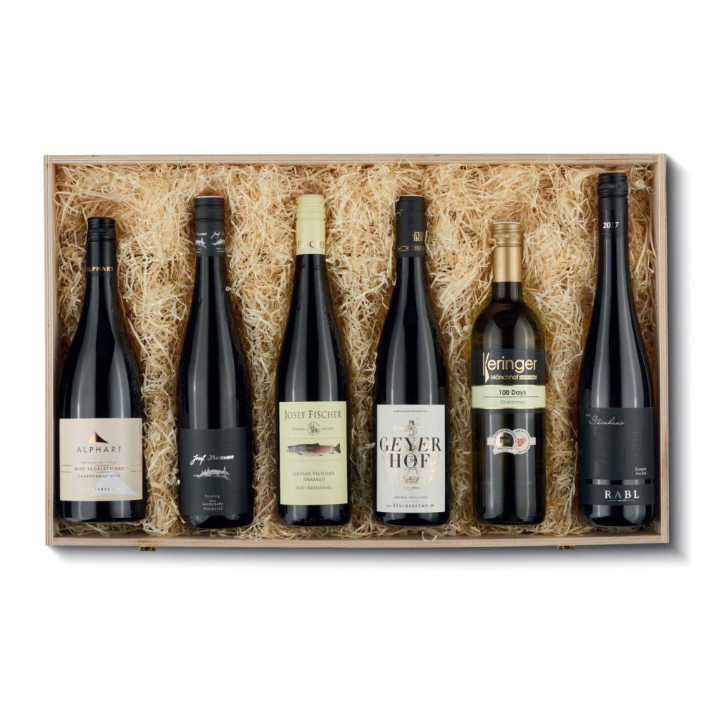 Weisswein aus Oesterreich6erHK  GVE 1
