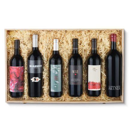 Rotwein aus Oesterreich  6erHK  GVE 1