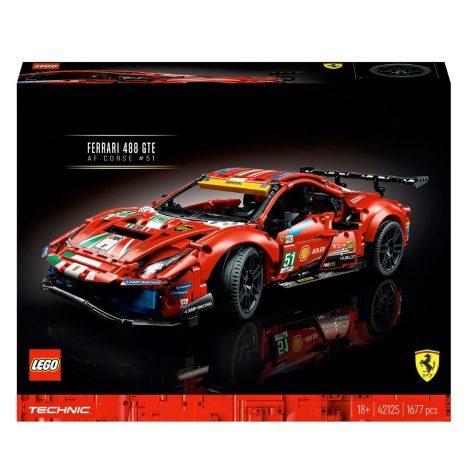 LEGO Technic   Ferrari 42125    GVE 1