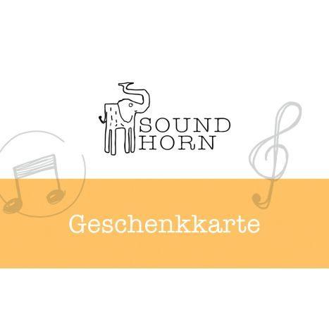 Soundhorn GK   25 EUR digital   GVE 1