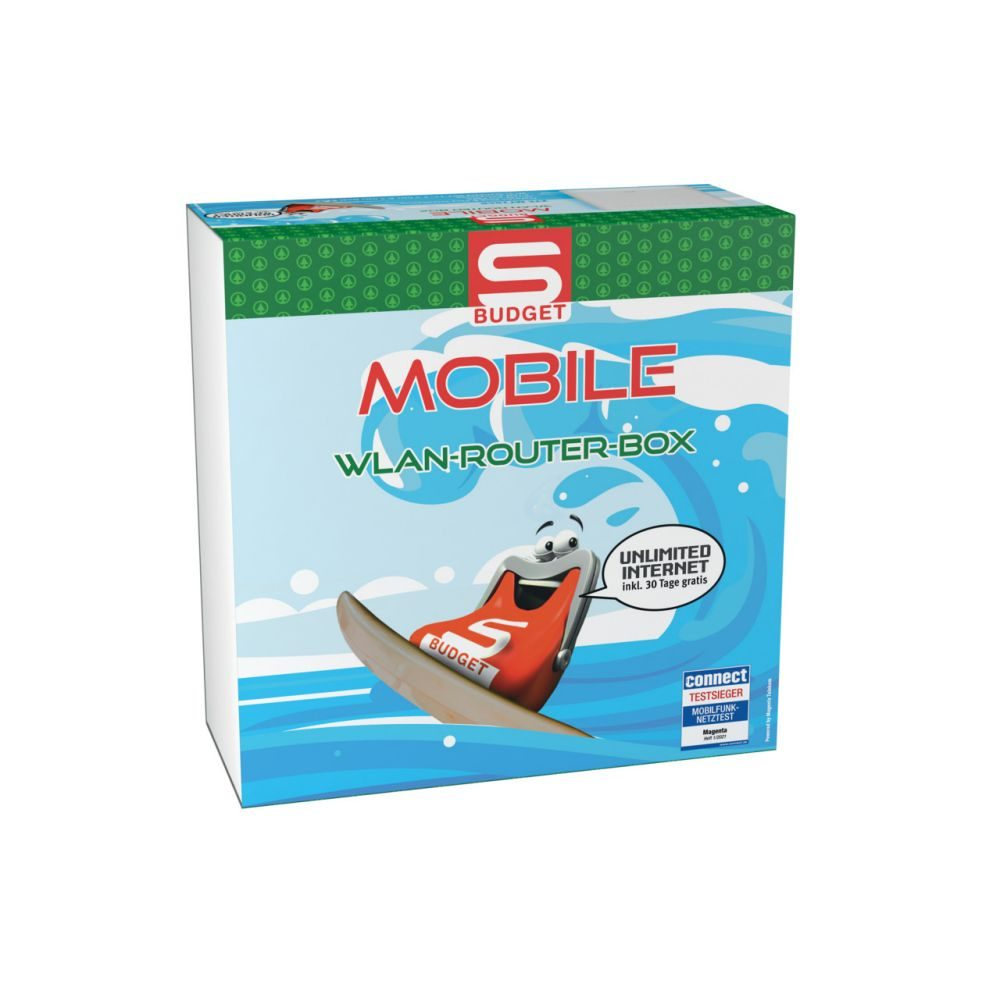 S-BUDGET MOBILE WLAN ROUTERBOX  GVE 1