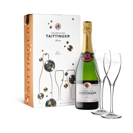 Taittinger BrutRes. Twin Box    GVE 3