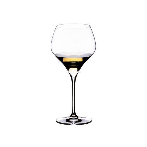 Weinglas 2er   Oacked Chard.    GVE 4