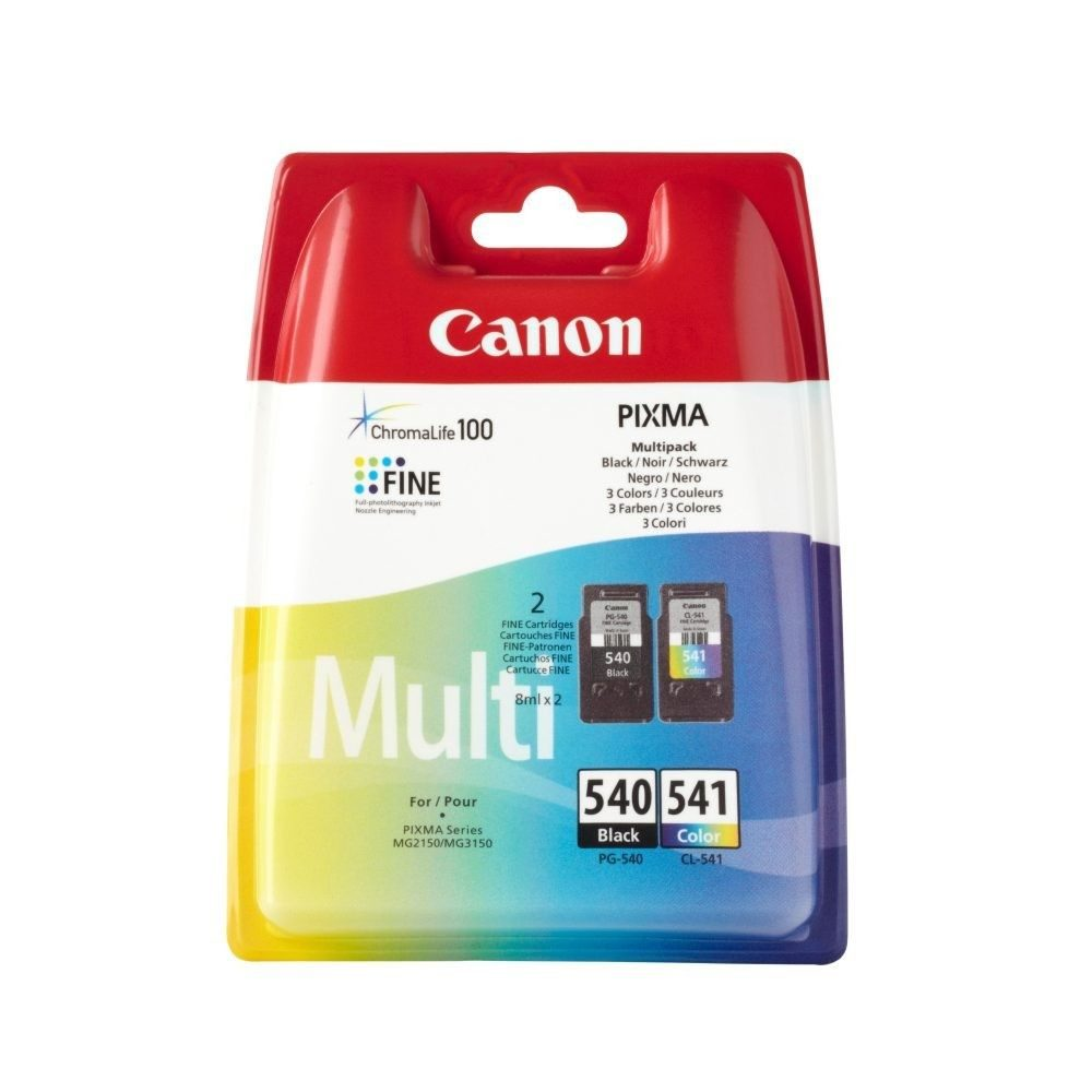 Canon Ink 540 BK + 541CL Multi  GVE 1