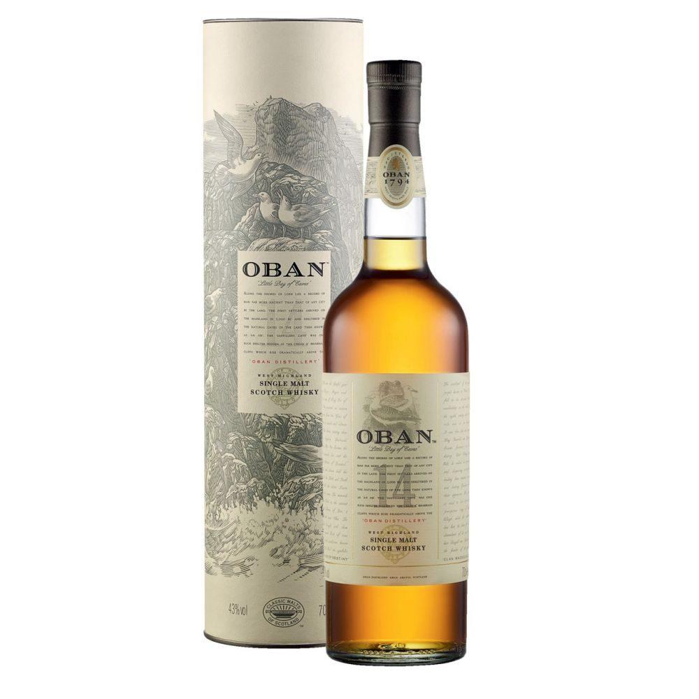 Oban Malt      Whisky 0,7l      GVE 6