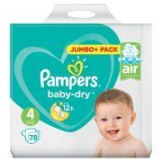 Pamp.Baby Dry  Gr.4 Maxi 78Stk  GVE 1