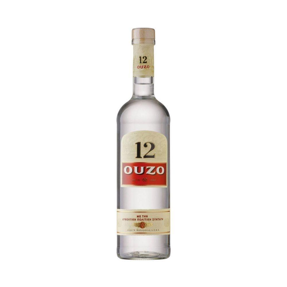 Ouzo No.12     0,7l             GVE 6