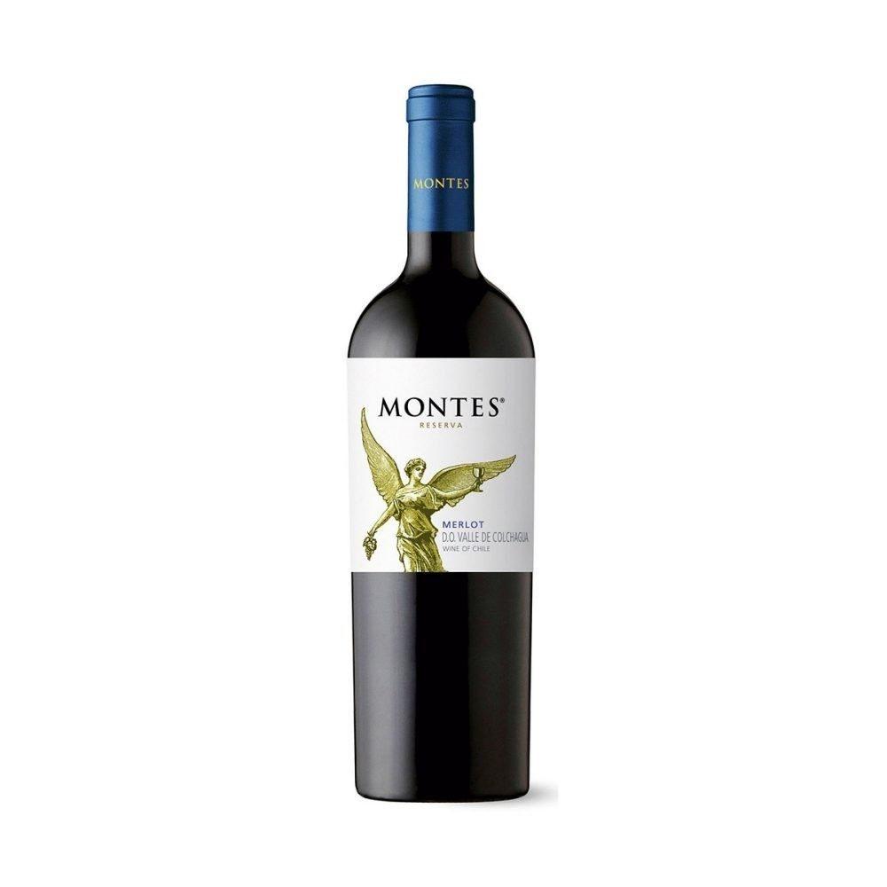 Montes Reserva Merlot     075l  GVE 6