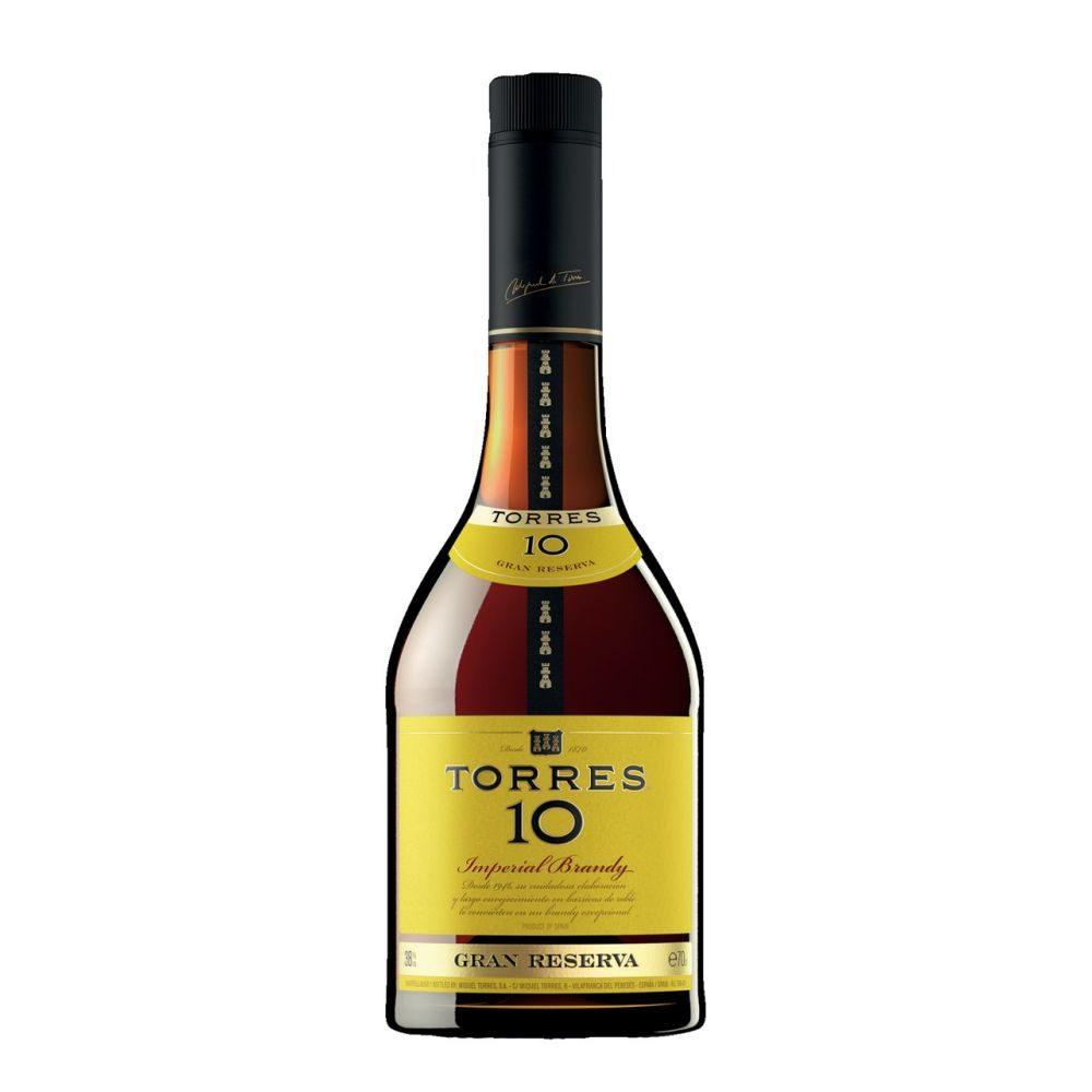 Torres Brandy  10 Torres 0,7l   GVE 6