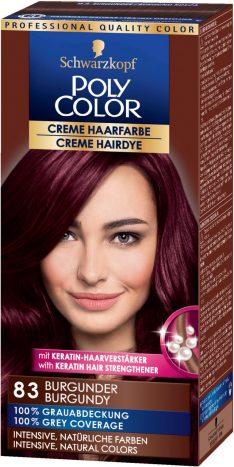Haarfarbe dunkle kirsche bilder