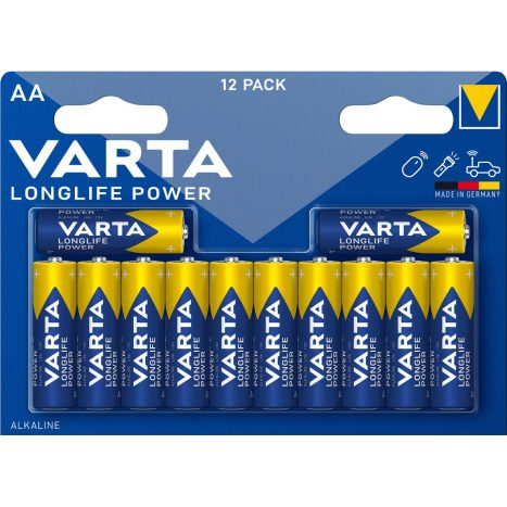 Varta Longlife Power AA 12er    GVE 20