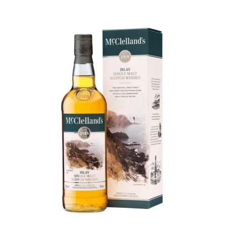 Mc Clellands   Islay Malt 0,7l  GVE 4