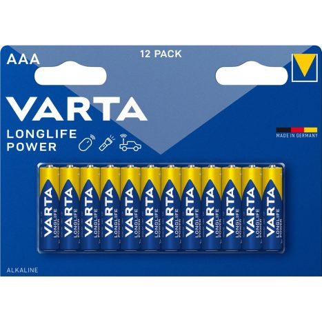 Varta Longlife Power AAA 12er   GVE 20