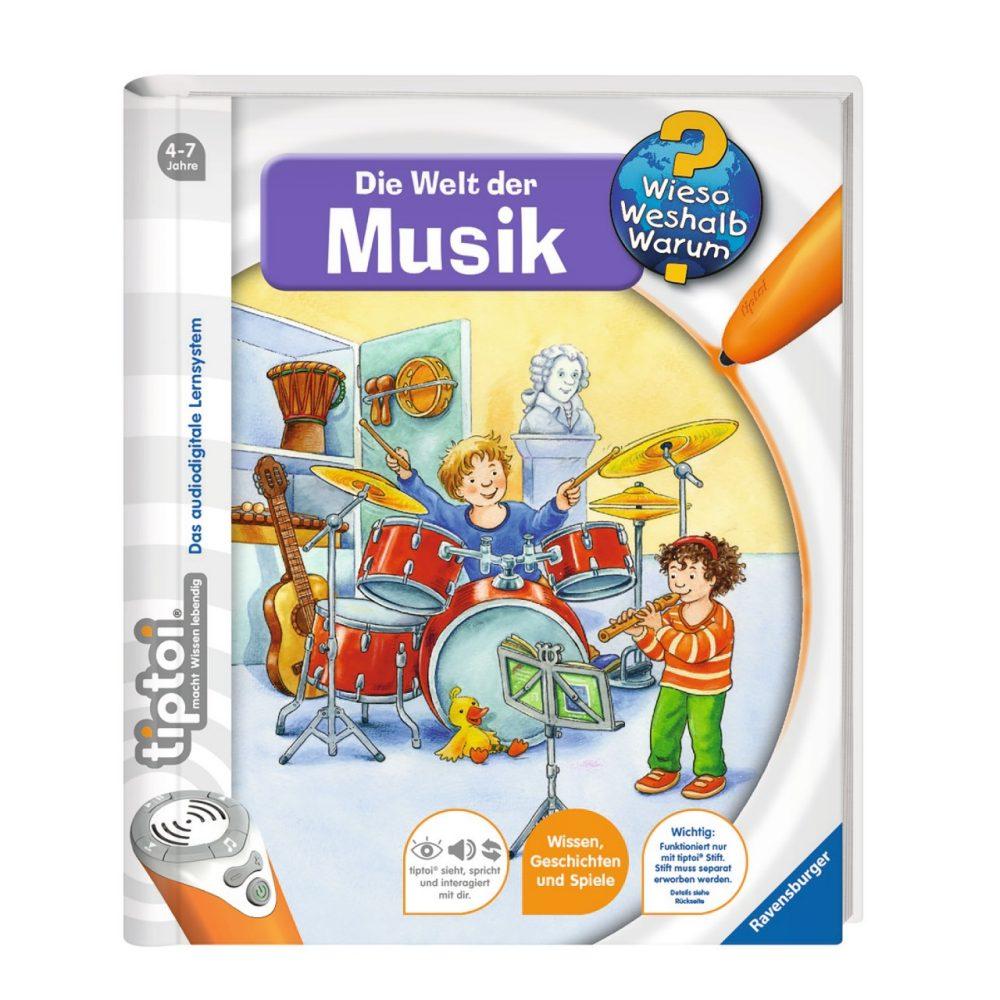tiptoi WWW Die Welt der Musik   GVE 1