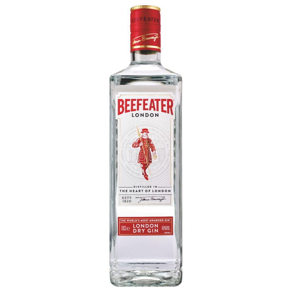 Beefeater 0,7l +Glas 24erDolly  G08 24