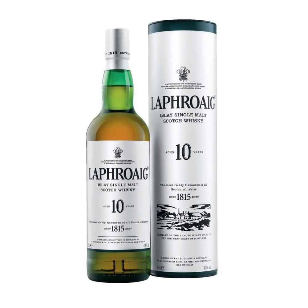 Laphroaig 10YO +Glas 0,7l       G02 6
