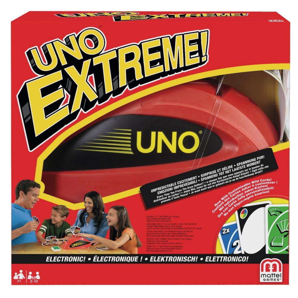 mattel games uno extreme karten reisespiele spiele puzzles spielware baby kleinkind. Black Bedroom Furniture Sets. Home Design Ideas
