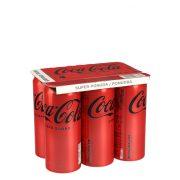 COCA COLA ZERO 6X 0,33L 5+1 GR